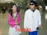 [18.04.13] Hongki und Mina machen sich auf den Weg zu ihrenFlitterwochen